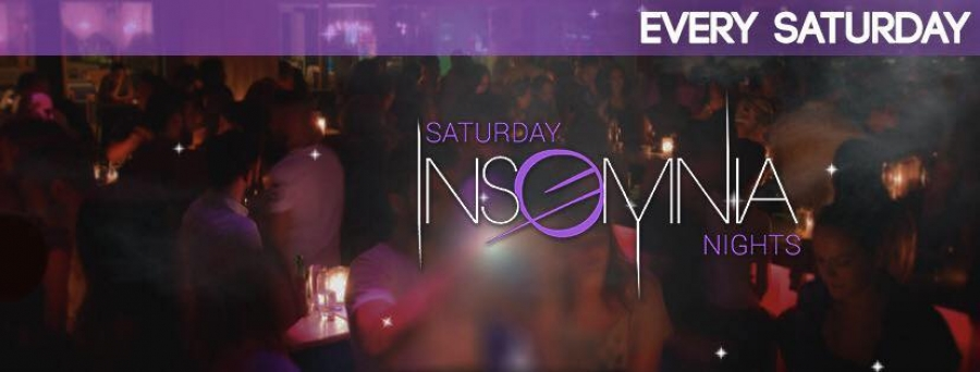 INSOMNIA SATURDAY NIGHTS @ EL VERANO BAR